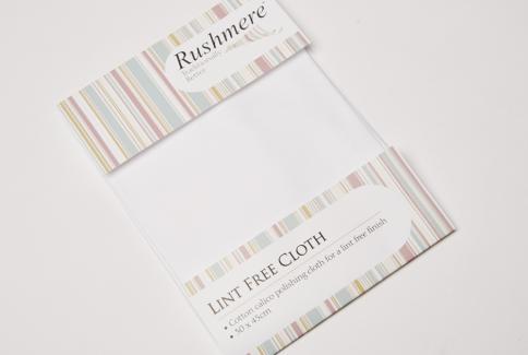 Lint free polishing cloth