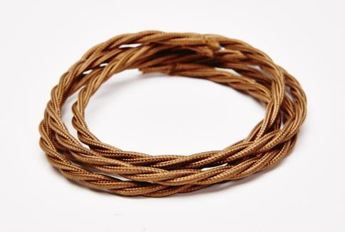 Antique gold silk flex