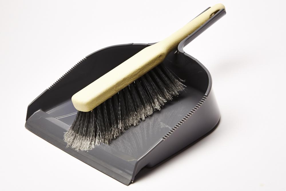 Heavy Duty Dustpan & Brush Set