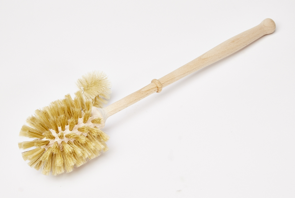Toilet Brush with Edge Cleaner