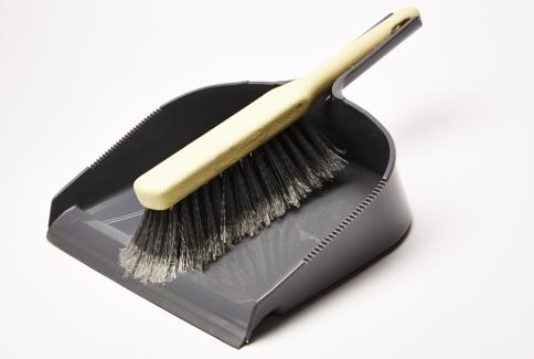 Heavy Duty Dustpan & Brush Set