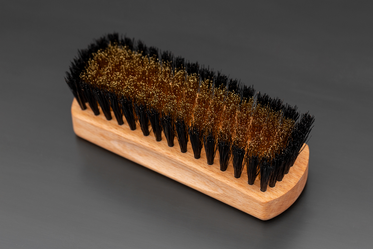 Brass Suede Brush